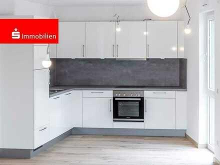 Helle 3- Zimmer-Wohnung mit großzügiger Raumaufteilung mit Terrasse, Einbauküche, modernem Bad, G