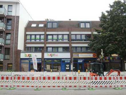 Anlage! Vermietetes Büro mit TG-Stellplatz in zentraler Lage von Bergedorf