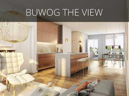 2-Zimmer-Wohnung mit offenem, modernem Grundriss und herrlichem Balkon mit Blick auf die Dahme