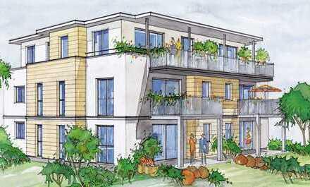 Altersgerechte Wohnung mit Privatgarten - Tiefgarage - Aufzug -