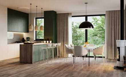Komfortabel Wohnen mit viel Raum zum Wohlfühlen: Penthouse in Frankfurt-Harheim, PROVISIONSFREI