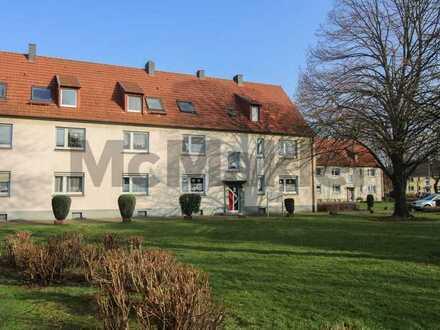 Kapitalanlage in Duisburg-Huckingen: Vermietete 2-Zi.-Erdgeschosswohnung