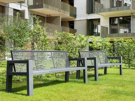 AM FLUSS: Wohnen in bester Lage - Attraktive 3-Zimmer-Wohnung mit Garten und Terrasse