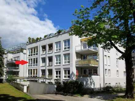 Helle 2-Zimmer-Wohnung / 2.OG / Aufzug / Tiefgarage / Schwimmbad im Haus
