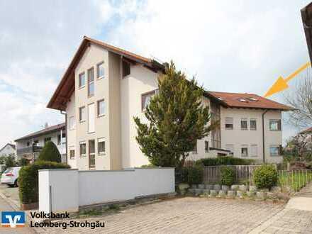 *** Helle 3½ Zimmer-Dachgeschosswohnung im gepflegten 6 Familienhaus! ***