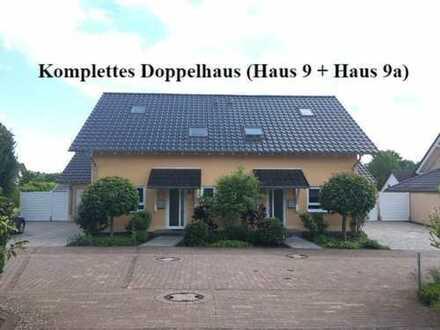 Komplettes Doppelhaus (9 + 9a) zu verkaufen