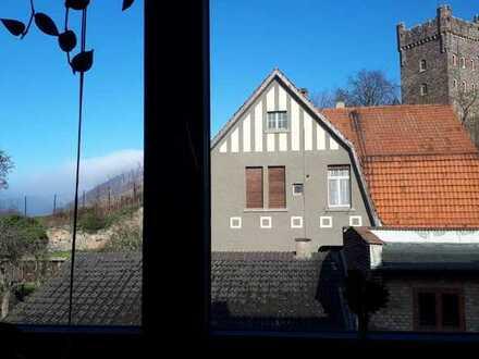 Studenten-WG im Weingut Schloßberghof (Innenstadt) - Top-Aussicht auf die Burg Klopp