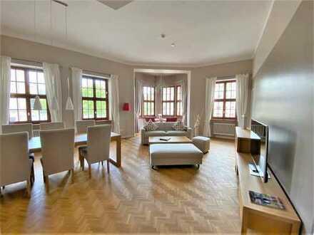 Grandiose Lage - exklusiv möbliertes Appartement - im Herzen von Dresden