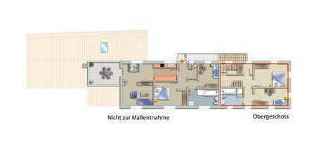 Tolle Maisonettewohnung mit eigener Dachterrasse