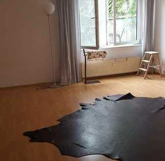 Souterrain-Hübsches 1Zimmer Apartment in guter Lage von Mannheim!