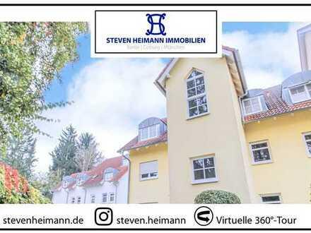 STEVEN HEIMANN präsentiert: Charaktervolles Dachgeschoss mit Veste-Blick | inkl. Stellplatz
