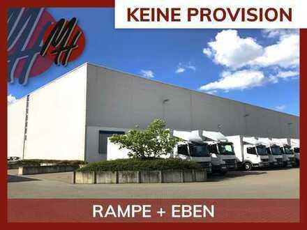 PROVISIONSFREI! Lager-/Logistikflächen (1.020 qm) & optional Büroflächen (90-230 qm) zu vermieten