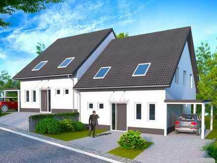 Ab 309.000 € NEUBAU DHH, TRAUMLAGE mit Fernblick ! Massivbau. Hochwertig & moderne ⏏︎ BOOS Häuser.