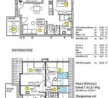 Eigentumswohnung Haus 2 Nr.5 Maisonette Wohnung OG+DG