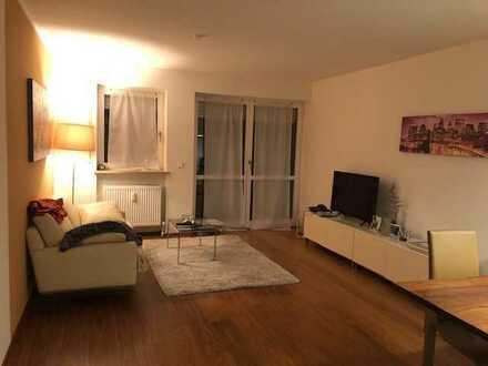 Exklusive, hochwertig möblierte 2-Zimmer-Wohnung mit Balkon und EKB in Ingolstadt (nähe Auwaldsee)