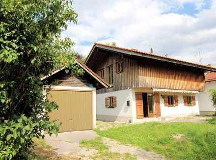 Handwerker aufgepasst! Charmantes Einfamilienhaus in Iffeldorf!