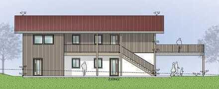 TRAUMLAGE – AUßERGEWÖHNLICHES OBJEKT modern & ökologisch wohnen im Holzmassivhaus Neubau