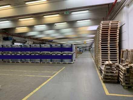 *PROVISIONSFREI* Produktion-, Logistik- und Lagerhalle mit Büro an der B 29 zu vermieten