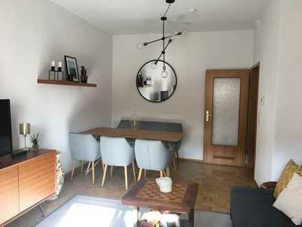 Gemütliche 3-Zimmer-Wohnung mit Balkon und Einbauküche nahe Berger Straße