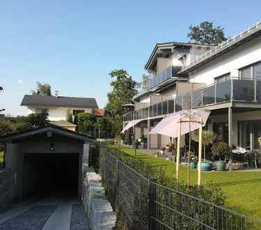 KfW 40+ Haus: 3 Zimmer-EG-Wohnung mit 56 m² Garten in Bruckmühl