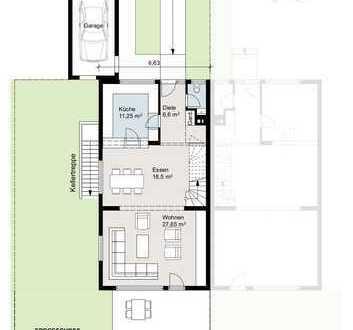 Großzügige Doppelhaushälfte mit sechs Zimmern in Sindelfingen
