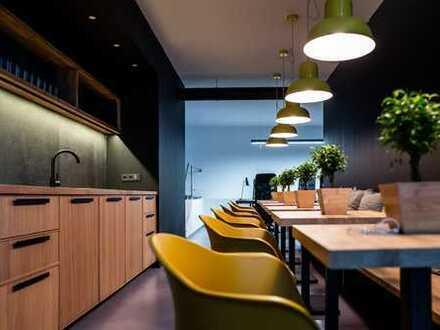 TEAMZ - new startup hub at Friedrichstraße: fully furnished design workspaces.
