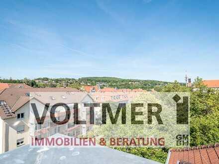 HISTORISCH - sanierte Altbauwohnung mit Küche & Loggia in Neunkirchen City