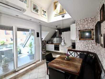 Top gepflegte DG-Wohnung mit schöner Loggia