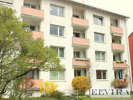 ELVIRA! Sendling - Frisch renovierte 3-Zimmer Wohnung mit Südloggia