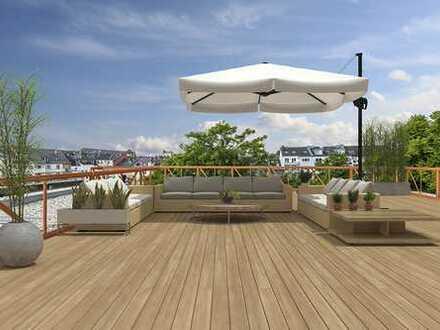 Flingern: Traumloft im Innenhof mit großer Dachterrasse