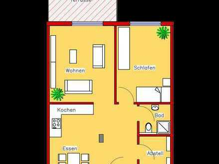 Erstbezug: Schönes Appartement mit Parkett, Einbauküche und Terrasse (R3)