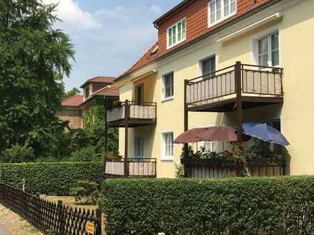 Romantische Wohnung am Pillnitzer Schloss
