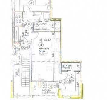 MG Windberg, Top Neubau Wohnung, 1. OG, Nr 4 mit Loggia