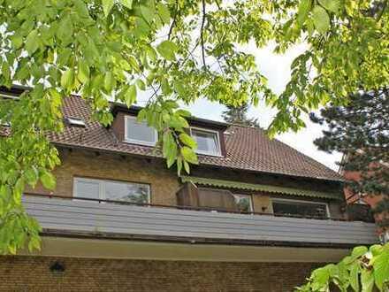 4 Zimmer, 2 Bäder und 2 S/W-Balkone