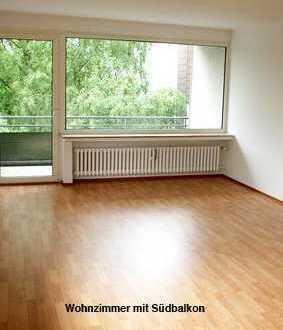 Helle 65,9 qm Wohnung mit 2 Süd-Balkonen, bevorzugte Lage in Ennepetal-Voerde