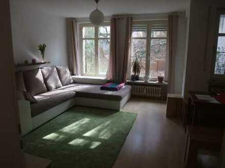 Schönes, gemütliches 1-Zimmerappartement in zentraler Lage mit Gartenanteil
