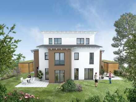 Neu entstehende Doppelhaushälfte | Bereits im Bau