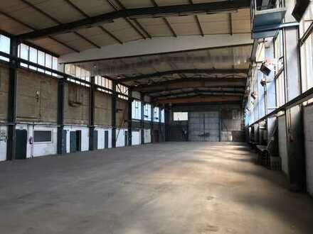 Gewerbehalle mit Büro und 2 Kranbahnen