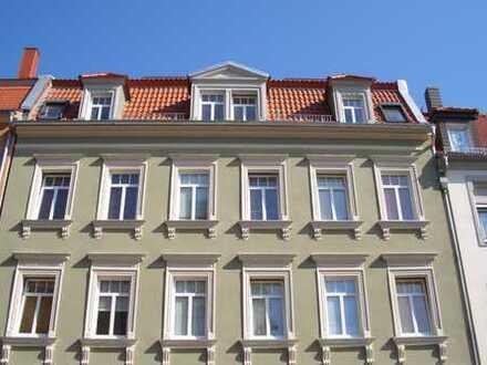 Gemütliche 2-Raum-EG-Wohnung mit Balkon und Kamin in Bautzen zu vermieten.