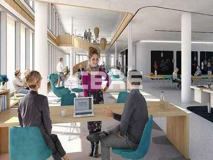 München Kreativquartier nh. Ostbahnhof - Ihre Neubau - Büroetage mit Dachterrasse - Erstbezug
