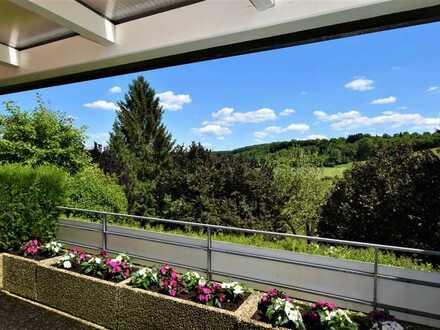 ++ 5-Zimmer-Terrassen-Wohnung mit unverbaubarem Blick ins Grüne ++