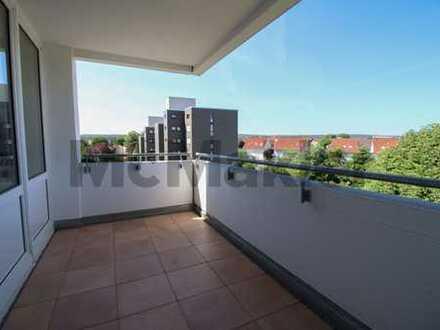 Kleinfamilientraum: 3-Zi.-Whg. in sanierter Wohnanlage mit Balkon, Garage und Stellplatz