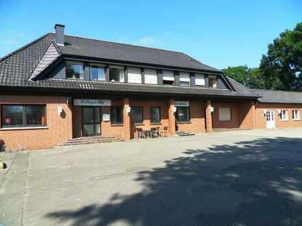 Gastronomie Objekt zu verkaufen, Gaststätte, Saal, Kegelbahn, Wohn, Fremdenzi., 49599 Voltlage