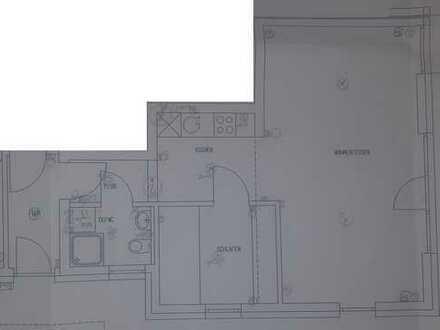 Gepflegte 2-Zimmer-Wohnung mit Terasse und Einbauküche in Aichtal