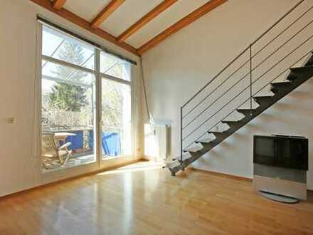 E&Co. - Ruhig gelegene, helle 2,5 Zimmer Galerie Wohnung in der Nähe des Forstenrieder Parks !