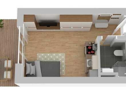 """TOP Neubau-Wohnung """"Am Musikerviertel"""" Apartment mit Terrasse ATP12"""