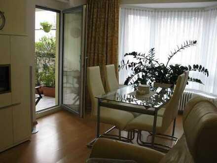 Gepflegte 3-Zimmer-Wohnung mit Loggia neben Universitäts-Klinik (provisionsfrei)