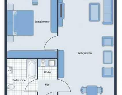 Gepflegte 2-Zimmer-DG-Wohnung mit EBK und Tiefgaragenstellplatz in Markranstädt
