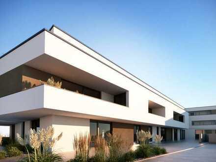 Barrierefreie Neubauwohnung - EBK + Loggia