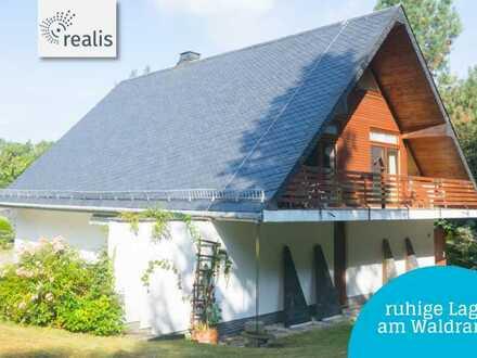 Traumhaus für Individualisten+malerische gelegen in der Waldsiedlung Oberlichtenau